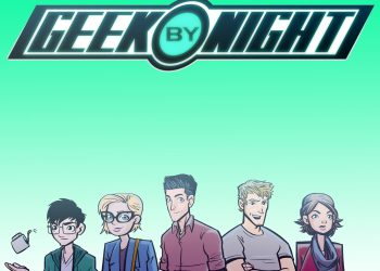 Geek by night cover art