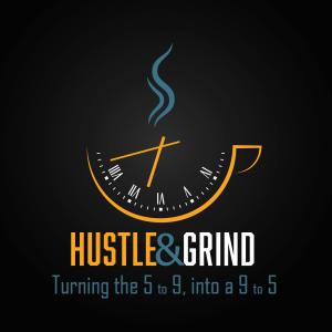 Hustle & Grind podcast cover art
