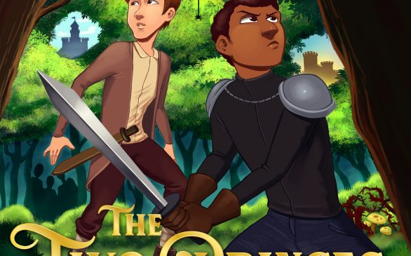 The Two Princes cover art by Gimlet Media